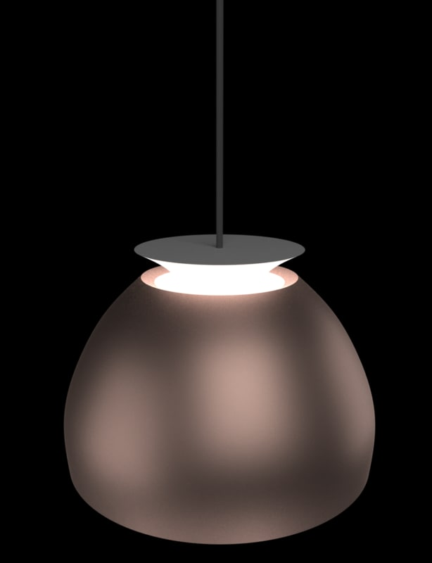3d model high-res realistic modern lamp