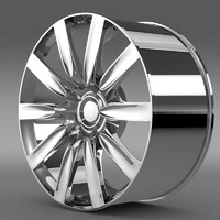 3d bentley continental gt rim