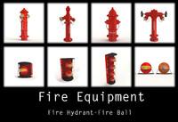 hydrant ball 3d max