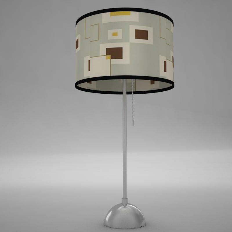 lamp scene 3ds