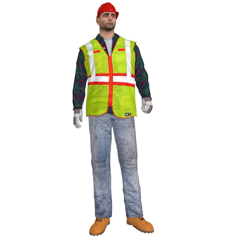 max rigged worker man