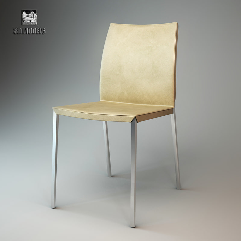 3d zanotta lia chair model