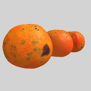 3dsmax mandarins oranges
