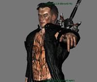 3d model character devil