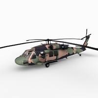 s70a-9 australian army 3d max