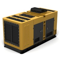 generator power electric 3d model