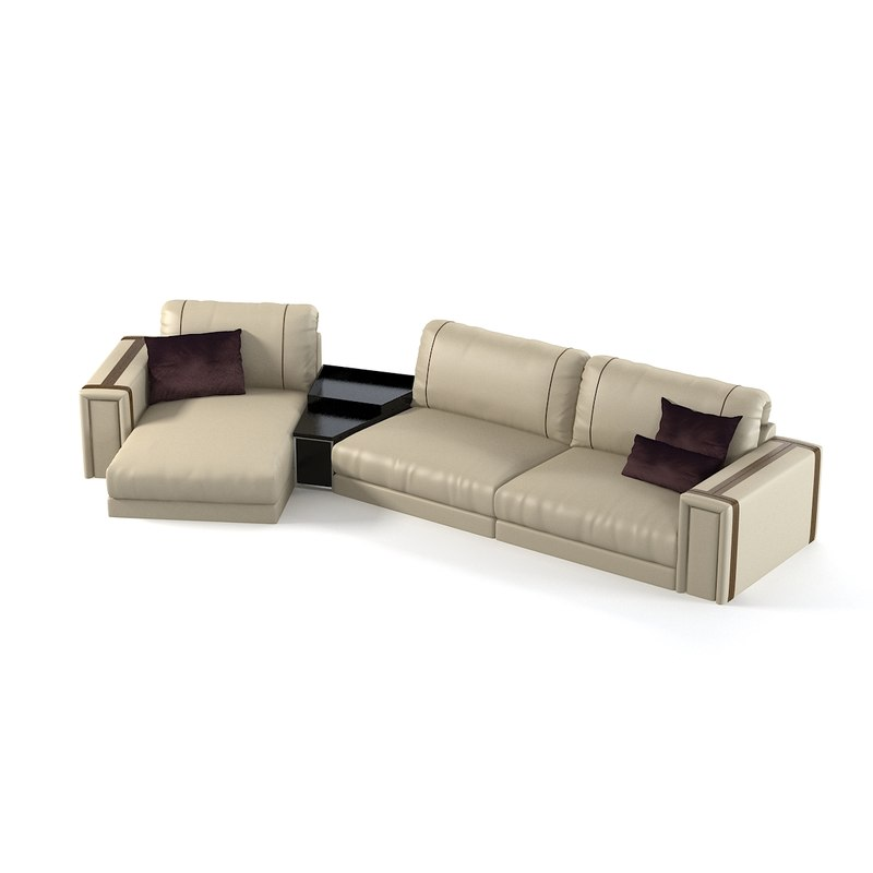luxury sectoinal sofa 3d model