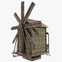 d model windmill