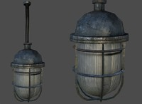 Lamp 03 LowPoly