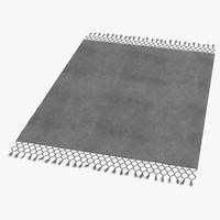 baxter rug 3d model
