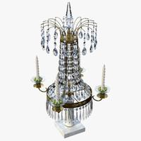 3d model crystal holder