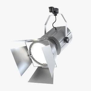 gt-16t-tn track light lamp 3d max