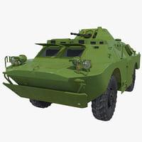BRDM-2 Armored Car