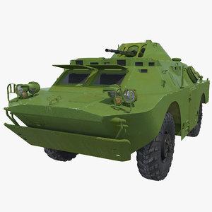 3d brdm-2 armored car