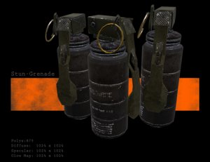 stun grenade max
