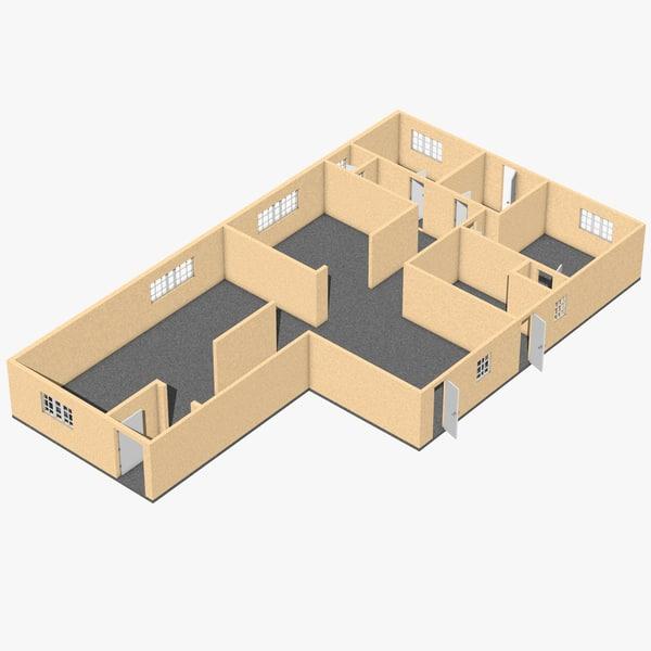 c4d floorplan plan