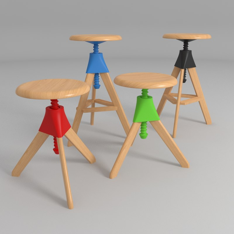 3d Magis Tom Jerry Bar Stools