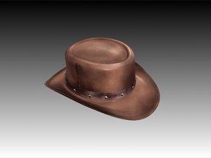 3d django hat