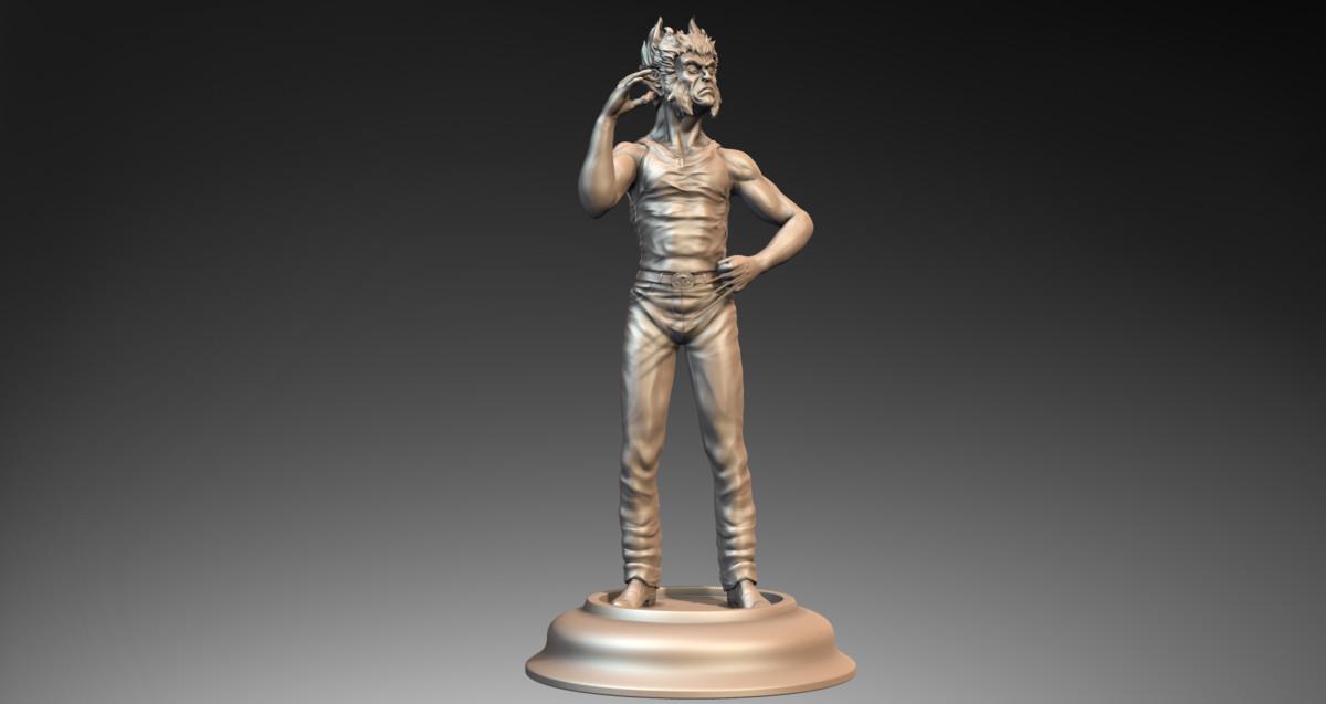 max statue wolverine