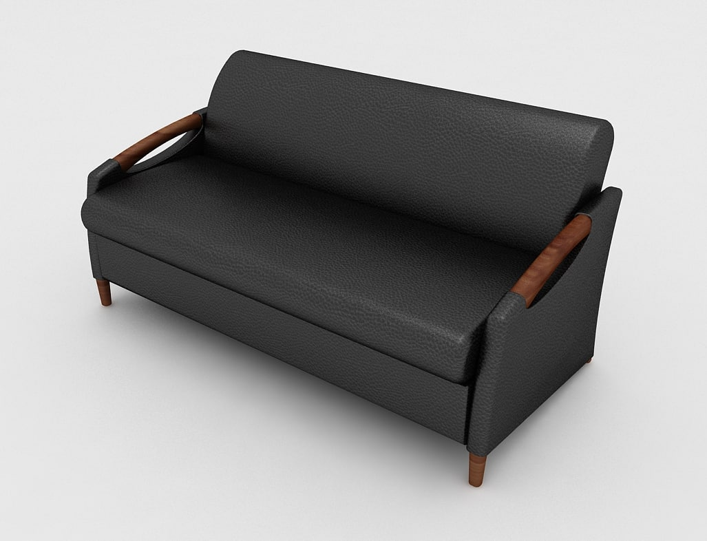 office sofa senator 3d max