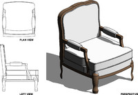 Chair Revit 001