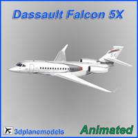 Dassault Falcon 5X Dassault livery
