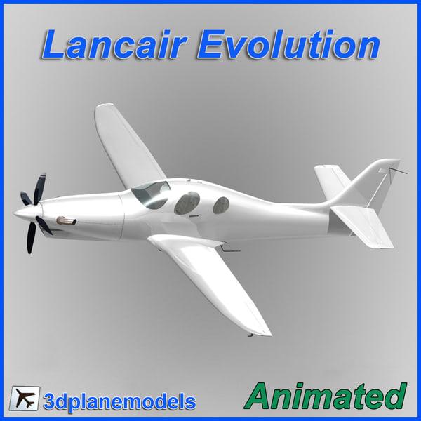 3d model lancair evolution