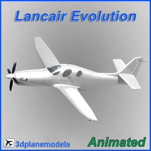 3d model lancair evolution