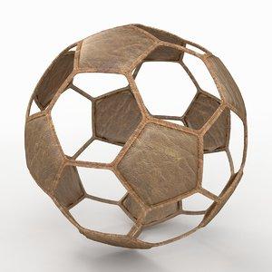 soccer ball 3d x
