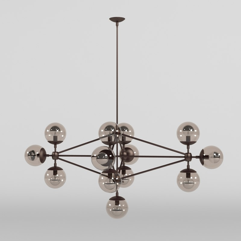 max modo chandelier 13 globes