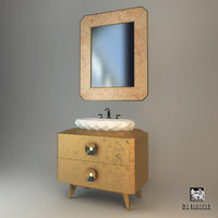3d model oasis pasha washstand