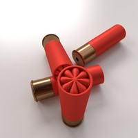 3ds max shotgun shells