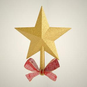max christmas tree star