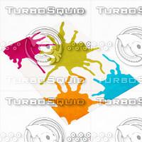 3d model arte espina colour