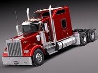 2014 cab w900 3d c4d