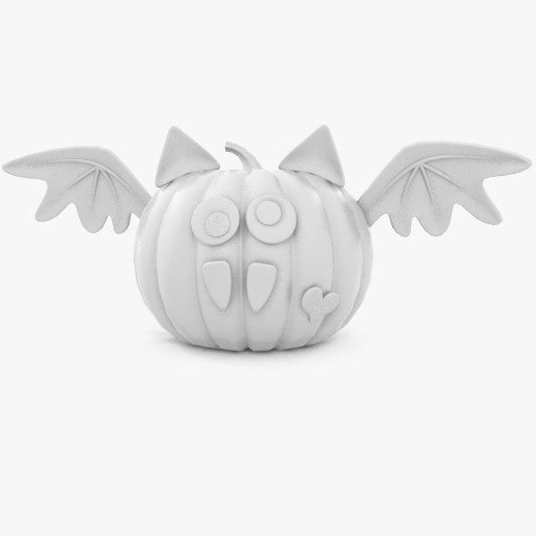 halloween pumpkin - v3 3d 3ds