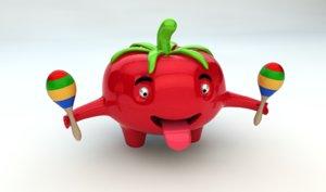 tomato character max