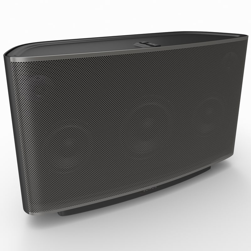 3ds max wireless music player sonos