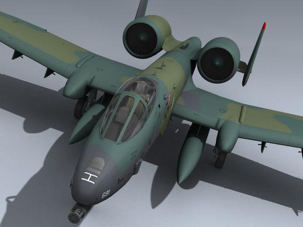 3ds a-10 thunderbolt ii euro