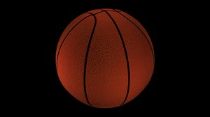 basketball ball basket 3d max