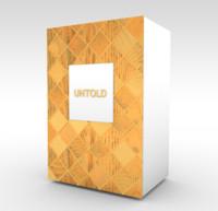 3d model of elizabeth perfume box