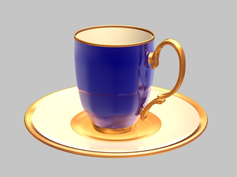 blue cup max