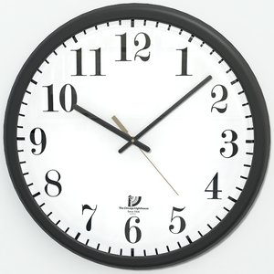 3d model office clock