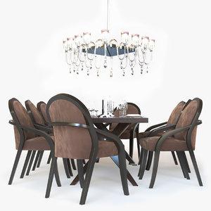 max fendi casa dining table