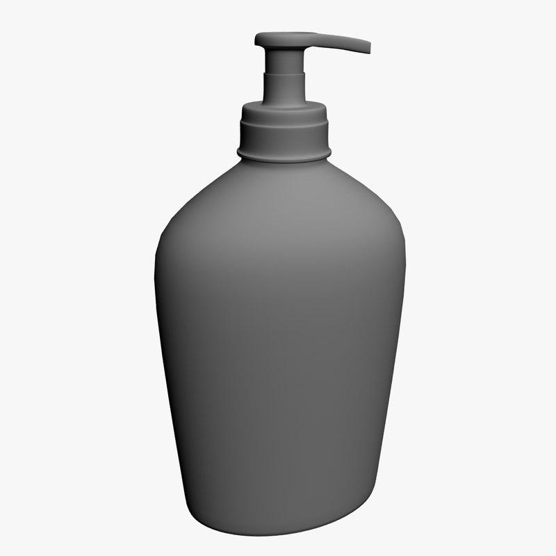 3ds max soap bottle
