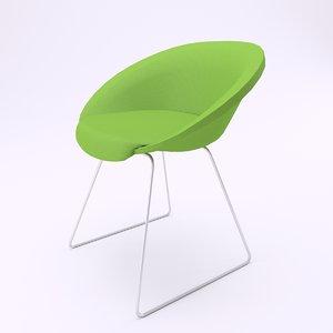 3d model gliss soft chair