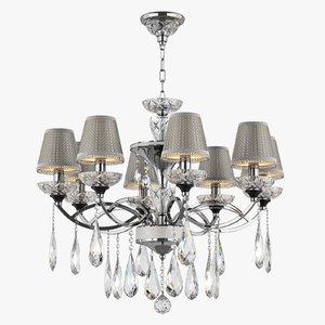 chandelier 867084 campana osgona 3d model