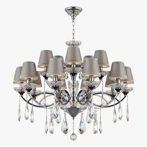 3d model chandelier 867154 campana osgona