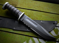 KA-BAR USMC combat knife (black)