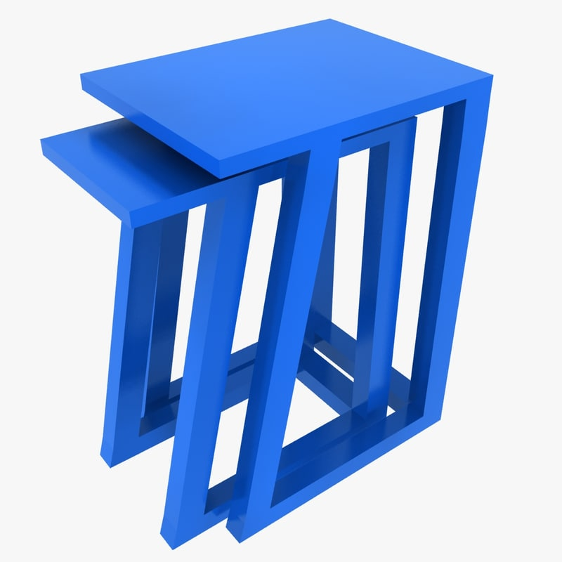 max plastic nested stool
